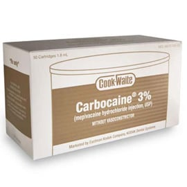 Cook-Waite CarbocaineCook-Waite Carbocaine 3% (Me