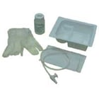 AMSure 10 Fr. Coiled Graduated Suction Catheter Tray With 100mL