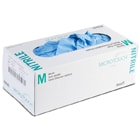 Micro-Touch Nitrile Exam Gloves: LARGE 200/Bx. Powder-Free, Textured