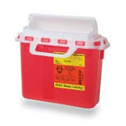 BD Sharps Collector 5.4 Quart BD Next Generation Sharps Container. Sharps