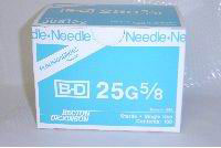 BD General Use Sterile Hypodermic Needle. 25 G x