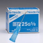 "BD General Use Sterile Hypodermic Needle. 20 G x 1/2"". Regular wall Type"