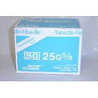 "BD General Use Sterile Hypodermic Needle. 25 G x 5/8"". Regular Wall Type"