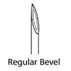 BD Sub-Q Sterile Hypodermic Needle. Regular Wall, Regular Bevel. 26 G x 5/8""
