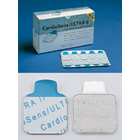 CardioSens Ultra II Resting ECG Electrodes. Single-Use Tab Electrodes offer high-quality