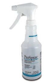 ProSpray Empty 16 oz Spray Bottle Labeled to Meet