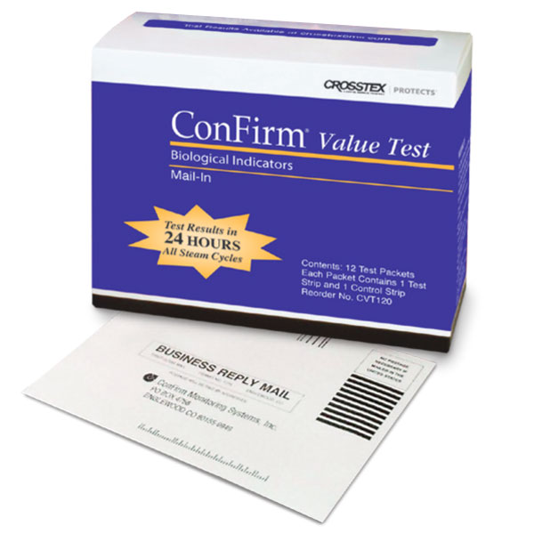 ConFirm Mail-In Value Test - 12 Packets (2 Strip