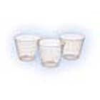 Crosstex 1 oz. Medicine/Mixing Cups - Clear Plast