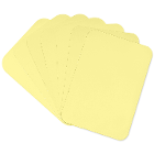 "Crosstex 8.5"" x 12.25"" Ritter B - YELLOW Heavyweight Paper Tray Cover 1000/Bx"