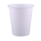 Crosstex White 5 oz. Plastic Cups, Case of 1000