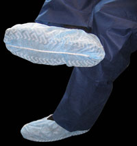 Dukal Shoe Covers, Made of a durable spunbonded m