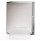 Georgia Pacific Chrome Combination C-Fold/Multifold Paper Towel Dispenser