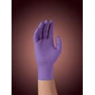 Purple Nitrile Sterile Gloves: LARGE 50 Pairs/Bx. Powder-Free, Textured, Purple