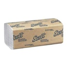 "Scott Single-Fold Paper Towels General Purpose, 10.5"" x 9.3"", Case of 4000"