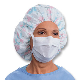 Three Standard Ties With White Surgical Mask Pleat-style Sosoft
