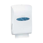 "Windows Universal Folded Towel Dispenser, White, 13.3"" x 18.9"" x 5.9"". Ideal"