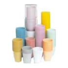 House Brand White 5 oz. Plastic Cups, Case of 1000