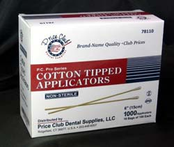 "Price Club 6"" Cotton-Tipped Applicators. Made fro"