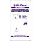 Nitriderm Nitrile Gloves: Sterile MEDIUM 50 Pair/Box. Powder Free, Smooth, Box of 50 Pair Medium