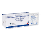 Nitriderm Nitrile Gloves: Sterile MEDIUM 50 Pair/Box. Powder Free, Smooth, Box