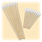"Medicom 3"" Cotton Tipped Applicators, Non-sterile, wood shaft"