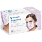 Safe+Mask Sof Skin Earloop Mask LAVENDER 50/Pk Fluid Resistant. Extra soft
