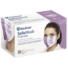 SafeMask Premier Safe-Mask Premier - LAVENDER Ear-Loop Face Mask, 50/Bx. ASTM