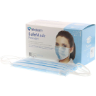 SafeMask Premier Safe-Mask Premier - BLUE Ear-Loop Face Mask, 50/Bx. ASTM Level