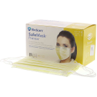 SafeMask Premier Safe-Mask Premier - YELLOW Ear-Loop Face Mask, 50/Bx. ASTM