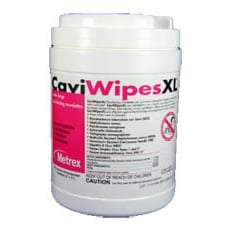 "CaviWipes Towelettes (X-Large: 9"" x 12"") 65/Can."