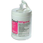 "CaviWipes Towelettes (Large: 6"" x 6.75"") 160/Can. Disposable towelettes"