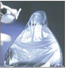 Pac-Dent Half Chair Sleeves, Clear Plastic, 27 1/