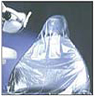 "Pac-Dent Half Chair Sleeves, Clear Plastic, 27 1/2"" x 24"", package of 225"