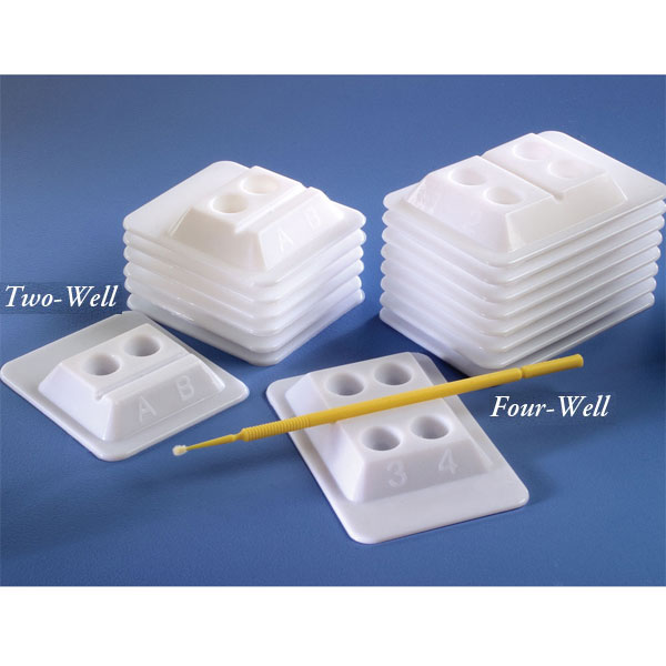 Bondwell 4-Well Disposable Mixing Wells - WHITE 5