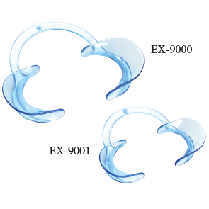 EXTND Cheek Retractor - Hand-free Adult Clear 2/P