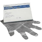 Plasdent Overgloves - Clear Plactic, Medium, Box of 100