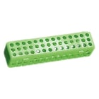 "Plasdent Instrument Steri Container - Neon Green, 8"" x 1-3/4"" x 1-3/4"""