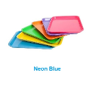 Plasdent Set-up Tray Flat Size B (Ritter) - Neon