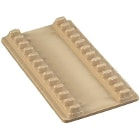 "Plasdent Instrument Mat - Large, Yellow 7-1/2"" x 4"", 12 Instruments Capacity"