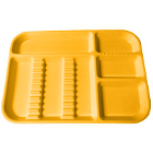 Plasdent Set-up Tray Divided Size B (Ritter) - Neon Tangerine, Plastic, 13-1/2""