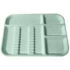 Plasdent Set-up Tray Divided Size B (Ritter) - Pastel Sea Green, Plastic