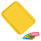 "Plasdent Set-up Tray Flat Size B (Ritter) - Neon Yellow, Plastic, 13 3/8"" x 9"