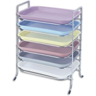 "Plasdent Tray Rack for Size B Trays, Long Side Loading, 14-1/2"" x"