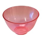 Spectrum Flowbowl Mixing Bowls, Ruby Red, Large Capacity 600 cc