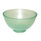 Spectrum Flowbowl Mixing Bowls, Emerald Green, Large Capacity 600 cc
