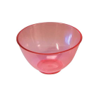 Spectrum Flowbowl Mixing Bowls, Ruby Red, Capacity 350 cc
