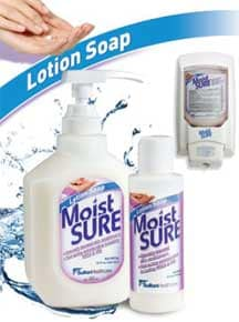 Moist SURE Antimicrobial Lotion Soap with .5% Tri