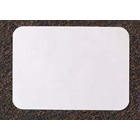 "Tidi 9"" x 13-1/2"" Certified - White Heavyweight Paper Tray Cover, Box of 1000"